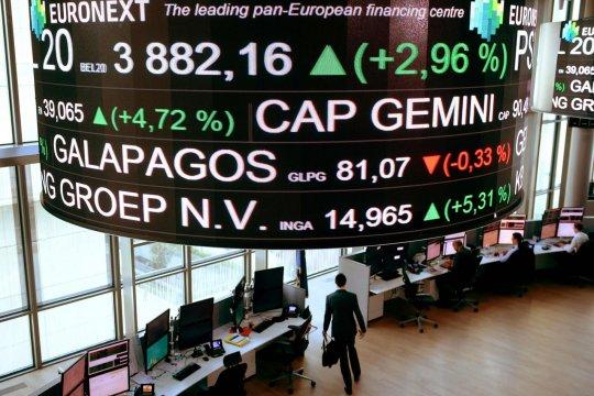 Saham Prancis bangkit kembali, Indeks CAC 40 melambung 1,21 persen