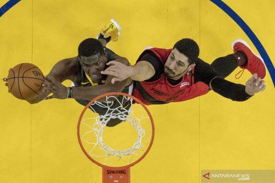 NBA Final wilayah barat: Warriors unggul 2-0 atas Blazers usai gim kedua