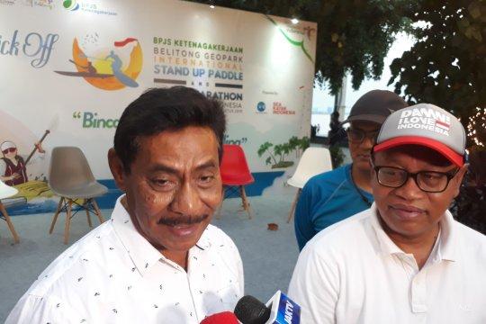 BPJS-TK dan Belitung tuan rumah lomba paddle dan kayak internasional