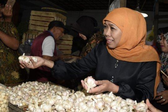 Gubernur Jatim pastikan stok pangan aman