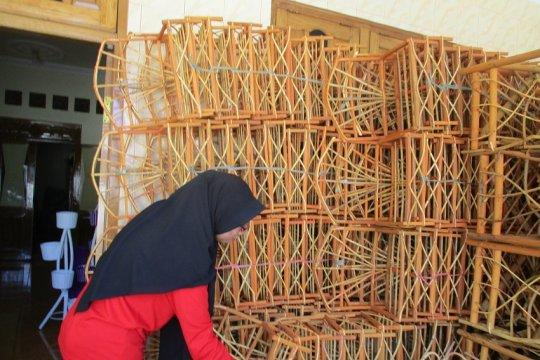 Permintaan keranjang parsel di Kediri meningkat jelang Lebaran