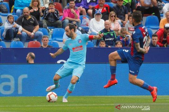 Liga Spanyol: Levante vs Atletico Madrid berakhir imbang
