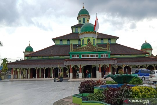 Mimbar dan beduk jadi sisa sejarah di Masjid Jami Banjarmasin