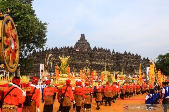 Pintu masuk Candi Borobudur ditambah antisipasi lonjakan pengunjung
