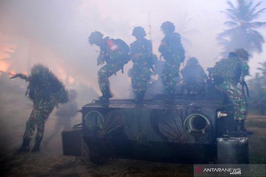 Marinir gelar latihan perang
