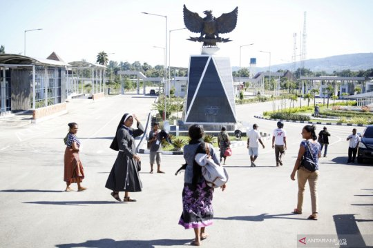 Pintu perbatasan Indonesia-Timor Leste dibuka sesuai keperluan
