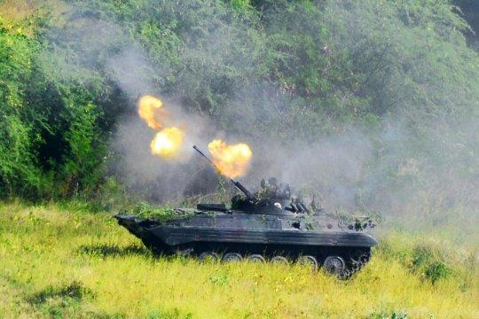 1.000 Marinir terlibat latihan tempur di Situbondo