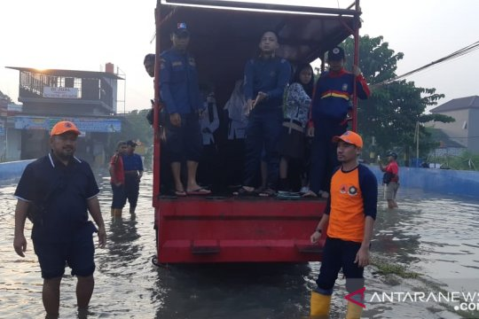 BPBD Kota Tangerang siagakan posko siaga banjir di tiga RW