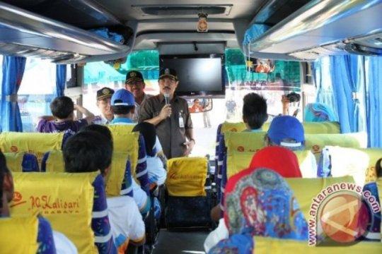Dishub Kabupaten Madiun sediakan delapan bus balik gratis ke Surabaya