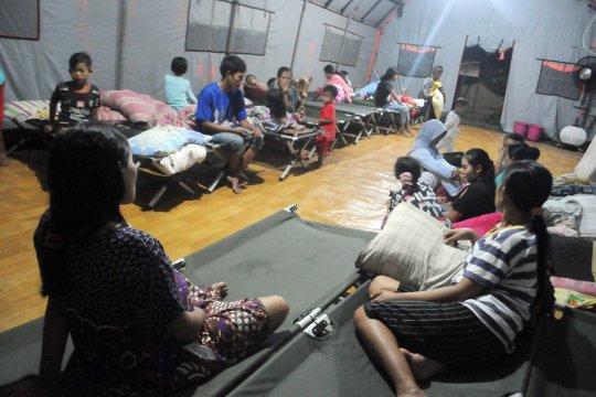 BPBD Lebak : Warga merasa senang tinggal di pengungsian