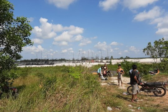"""Oknum TNI dan Polisi diduga """"bermain"""" tambang ilegal di Bangka Tengah"""