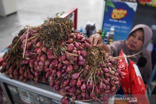 Omzet pedagang bawang anjlok 50 persen di jalan alternatif Brebes