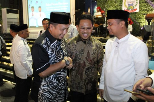 "Warga Sulsel se-Jabodetabek ""bukber""rsama Pj Wali Kota Makassar"