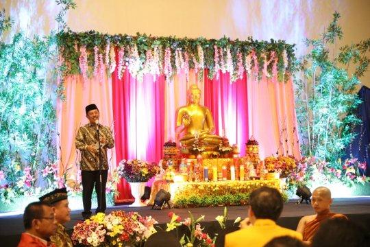 Buka puasa diselenggarakan Permabudhi, dihadiri Sekda Kota Makassar