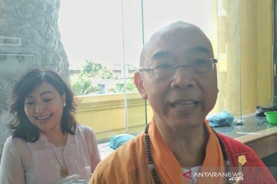 Pemimpin wihara ajak umat Buddha jaga persatuan pada perayaan Waisak