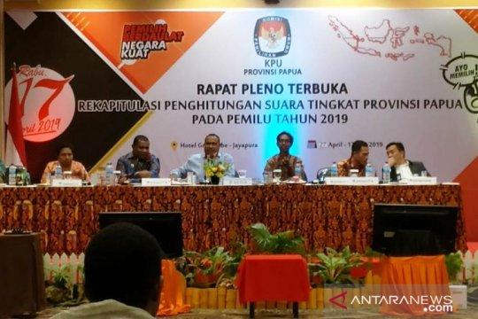 KPU Papua gelar pleno tingkat provinsi