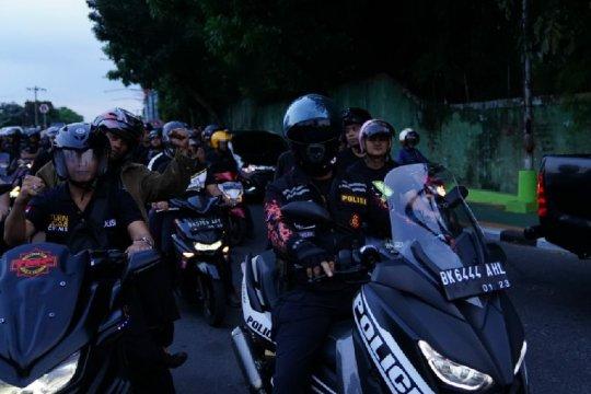 Polrestabes Medan gelar patroli skala besar
