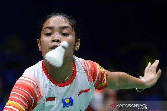 Gregoria Mariska atasi Abigail Holden untuk poin kedua Indonesia