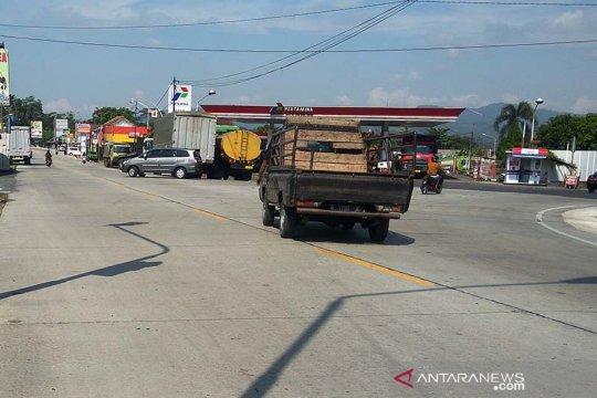 Ruas jalan nasional di Banyumas siap dilalui pemudik