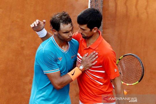 Roland Garros bakal jadi saksi duel ke-58 Djokovic vs Nadal