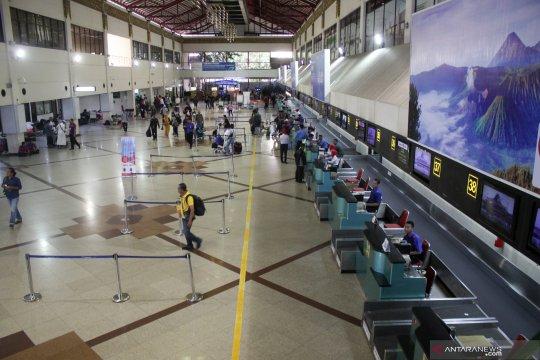Jumlah penumpang Bandara Juanda alami penurunan