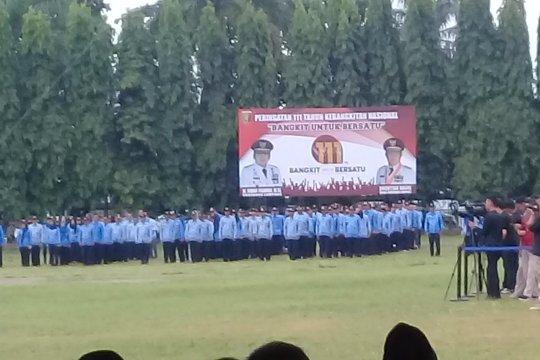 Gubernur : Hari Kebangkitan Nasional momentum semangat gotong royong