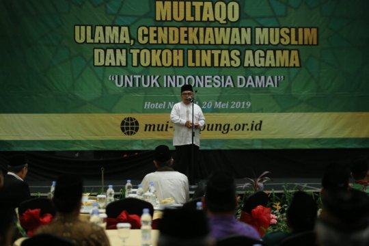 Tokoh agama Lampung gelar Multaqo untuk Indonesia damai