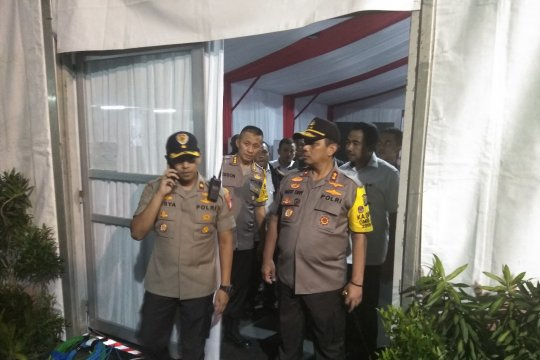 Kapolda Metro Jaya tinjau keamanan KPU RI