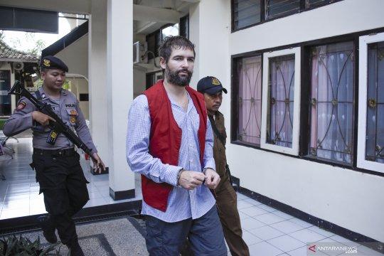 Pengadilan Mataram vonis mati WN Perancis penyelundup narkoba
