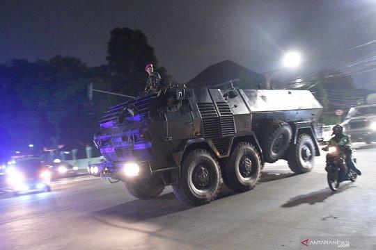 Pengamanan ibu kota jelang pengumuman hasil Pemilu oleh KPU