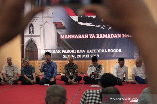 Gereja Katedral Bogor gelar buka puasa bersama