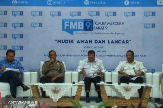 Polisi terapkan satu arah di jalan lintas Jawa saat Lebaran
