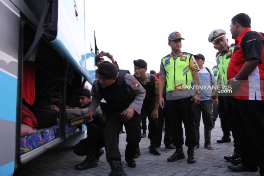 Polres Madiun cegah pergerakan massa pengikut aksi 22 Mei