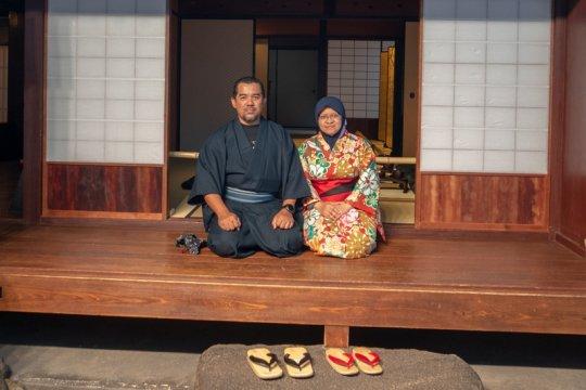 Kyoto sewakan kimono untuk turis muslim