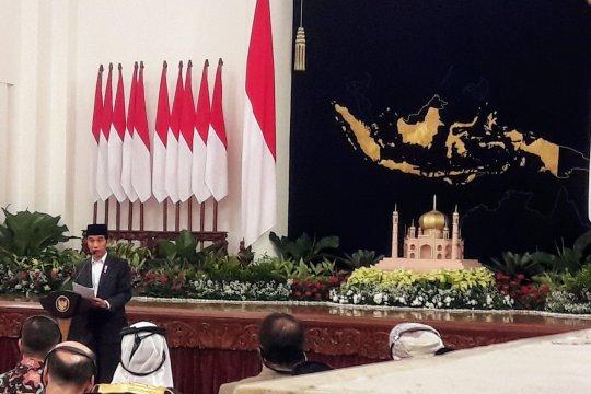 Presiden dan Wapres hadiri Peringatan Nuzulul Quran 1440 Hijriah