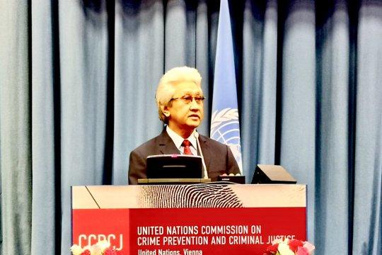 """RI tegaskan komitmen junjung tinggi """"prinsip hukum"""" di PBB"""