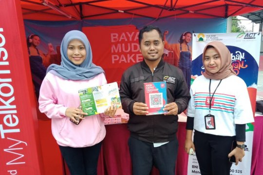 "Terima zakat dan bantuan kemanusiaan ACT Lampung buka ""booth"""