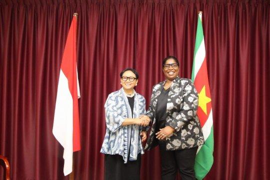 Indonesia-Suriname sepakat perkuat kemitraan ekonomi