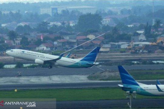 Turun, harga tiket Garuda Jakarta-Pangkalpinang