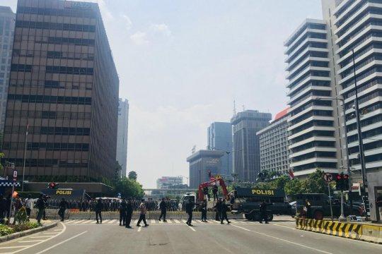 Pascapengumuman rekapitulasi nasional, Bawaslu RI dijaga ketat