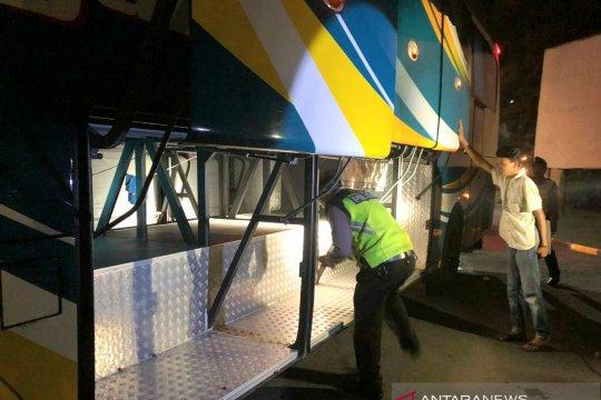 Kepolisian gelar razia di perbatasan antisipasi penyusup unjuk rasa