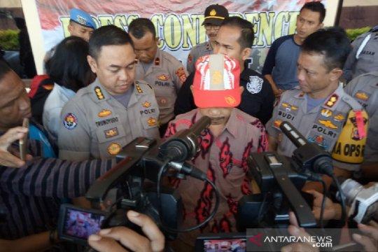 Polisi tangkap oknum guru di Garut penyebar teror bom