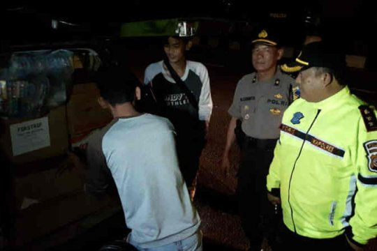 """Polres Indramayu tak temukan massa ikut """"people power"""""""