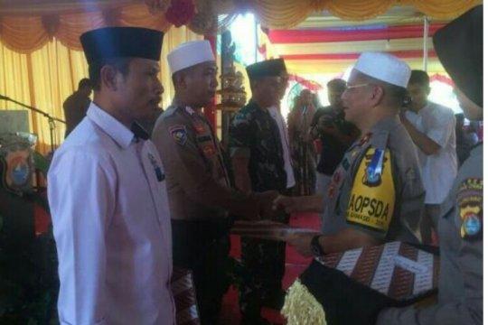 Kapolda beri penghargaan TNI, Polri dan Ormas