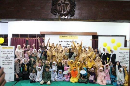 ACT-Maybank Syariah DIY beri santunan ratusan anak yatim