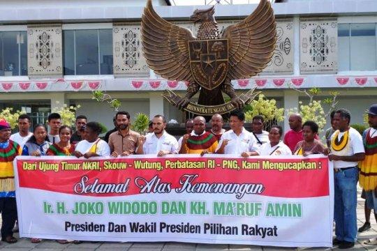 Cakra 19 Papua sampaikan selamat buat Jokowi-Ma'ruf