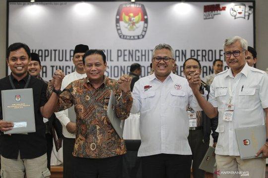 Penghitungan final suara Pilpres 2019, Jokowi-Ma'ruf menang