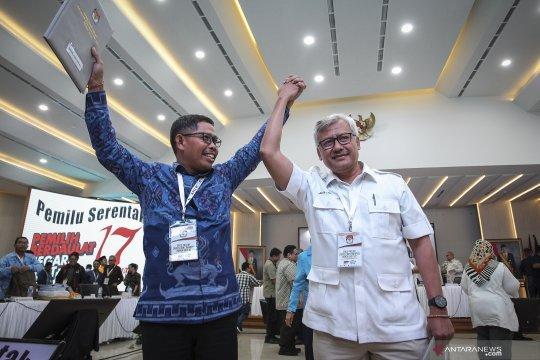 Round Up - Hasil final rekapitulasi Pemilu serentak 2019