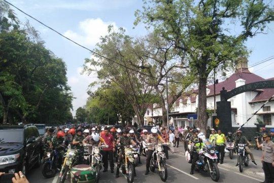 Seluruh personel TNI/Polri Sumut amankan aksi 22 Mei