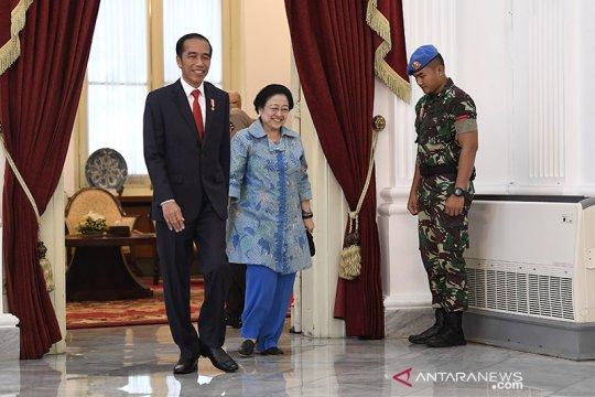 Megawati sampaikan selamat kepada Jokowi